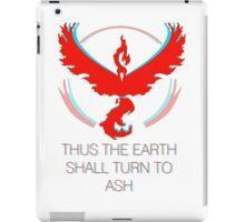 Team Valor - To Ash iPad Case/Skin