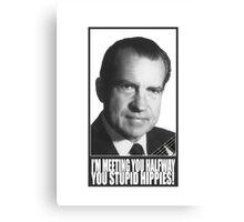 Nixon Canvas Print