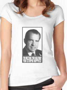 Nixon Women's Fitted Scoop T-Shirt