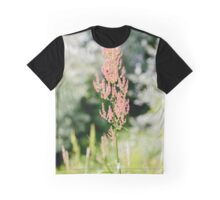 Rumex Acetosella in the Meadow Graphic T-Shirt