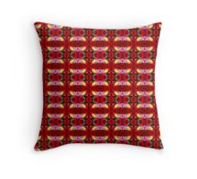 Red Poppy (VN.47) Throw Pillow