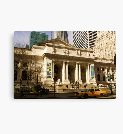 Not Your Average Library Canvas Print