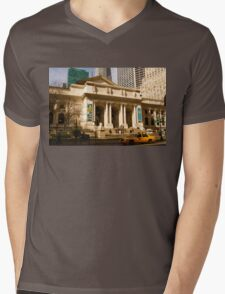 Not Your Average Library Mens V-Neck T-Shirt