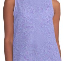 Lilac Gems and Crystals Pattern Contrast Tank