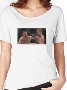 Nate Diaz vs Conor McGregor Poster Women's Relaxed Fit T-Shirt