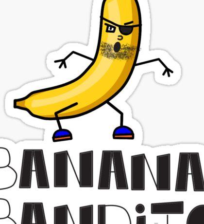 Banana Bandito Sticker
