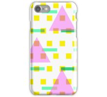 Straight Edge Pattern iPhone Case/Skin
