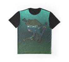 Ninja Pirate Zombie Graphic T-Shirt
