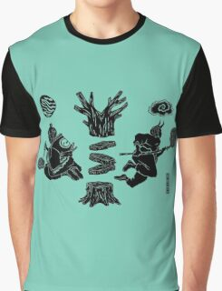 Love Letter teal Graphic T-Shirt