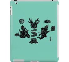 Love Letter teal iPad Case/Skin