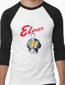 Eleven's Waffles Men's Baseball ¾ T-Shirt
