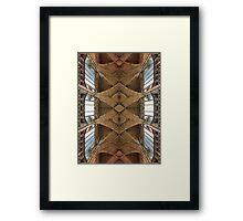 St. Vitus Cathedral Ceiling Prague Framed Print