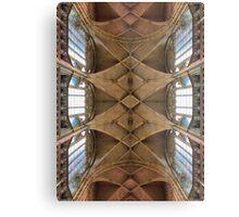 St. Vitus Cathedral Ceiling Prague Metal Print