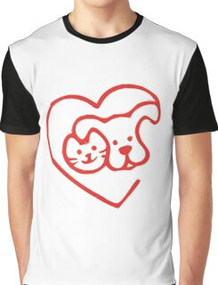 I LOVE MY DOGS_1 Graphic T-Shirt