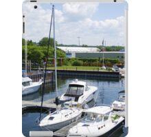 Champlain Port iPad Case/Skin