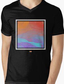 Pixel Vibrance Mens V-Neck T-Shirt
