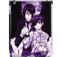 demon wings of safety  iPad Case/Skin