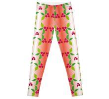 berry pattern Leggings