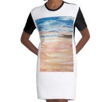 Calm Graphic T-Shirt Dress
