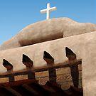 Santo Tomas Church Detail by Gordon Beck