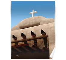 Santo Tomas Church Detail Poster