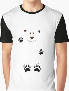 SAY HI TO THE BEAR IN THE SNOWSTORM Graphic T-Shirt
