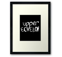 Upper Echelon Framed Print