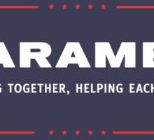 Harambe for President Sticker