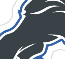 Detroit Lions Inverted Logo Sticker