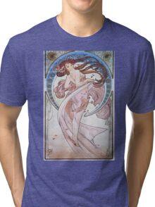 Alphonse Mucha - La Dansedance Tri-blend T-Shirt
