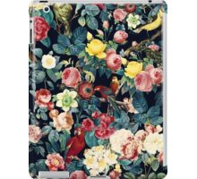 Floral and Birds Pattern iPad Case/Skin