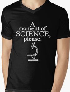 A moment of science, please Mens V-Neck T-Shirt