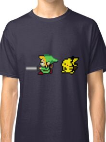 Link and Pikachu Classic T-Shirt
