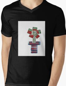 Growing Fear by Darryl Kravitz Mens V-Neck T-Shirt