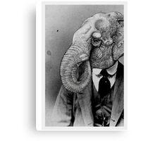 Elephant Man. Canvas Print