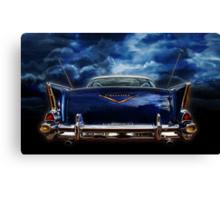 57 blue Canvas Print