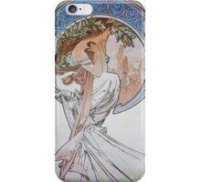 Alphonse Mucha - La Poesiepoetry iPhone Case/Skin