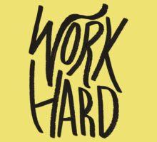 Work Hard Kids Clothes