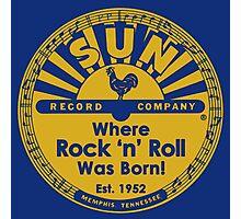 Sun Records : Where Rock N' Roll Was Born Photographic Print