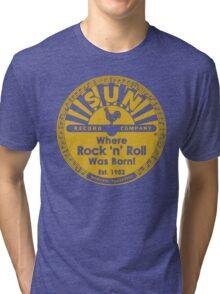 Sun Records : Where Rock N' Roll Was Born Tri-blend T-Shirt