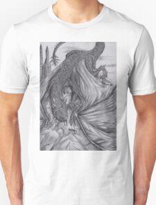 Hungarian horntail - BW Unisex T-Shirt