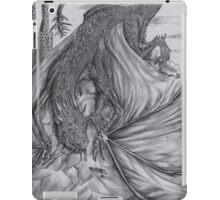 Hungarian horntail - BW iPad Case/Skin