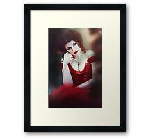 Crimson Queen II Framed Print