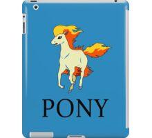Ponyta Ralph Lauren iPad Case/Skin