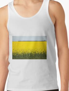 Field of canola plants Tank Top