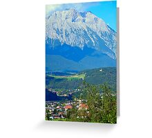 Silz, Land Tirol, Austria Greeting Card