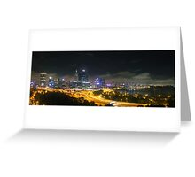 Perth City from Kings Park Greeting Card