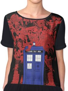 They Have The Phone Box... Chiffon Top