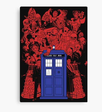 They Have The Phone Box... Canvas Print