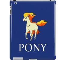 Ponyta Ralph Lauren dark iPad Case/Skin